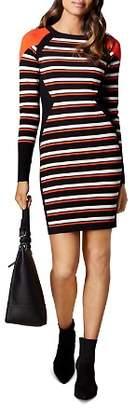 Karen Millen Color-Block Striped Dress