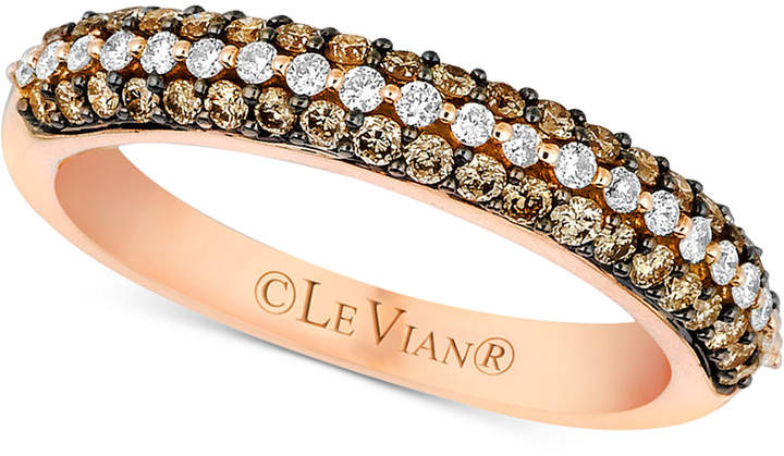 Le Vian Bridal Diamond Band (1/2 ct. t.w.) in 14k Rose Gold