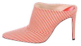 Altuzarra Striped Mule Pumps