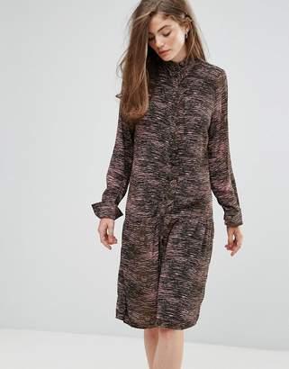 Gestuz Iva Tiger Army Print Dress