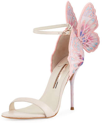 Sophia Webster Chiara Embroidered Butterfly Sandal $795 thestylecure.com