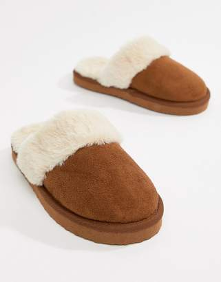 Asos DESIGN New Moon slippers