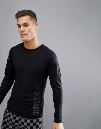 Jack and Jones Core Long Sleeve Top With Graphic Text