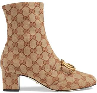 Gucci GG ankle boot with Double G