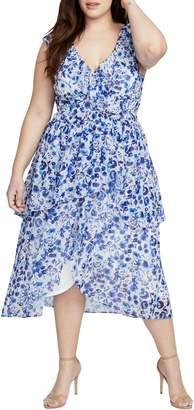 Rachel Roy Sleeveless Midi Dress