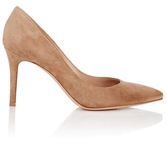 Gianvito Rossi Women's Gianvito Suede Pumps - Camel