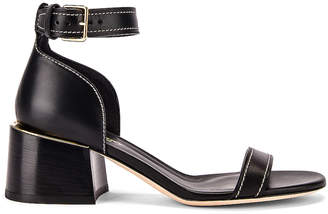 Burberry Attenby Sandals in Black | FWRD