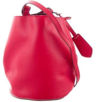 257b508b14f8 Burberry Small Leather Lorne Bucket Bag