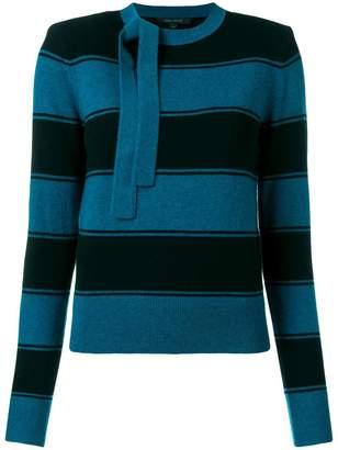 Marc Jacobs horizontal stripe sweater