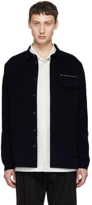 Stephan Schneider Navy Shirt Jacket