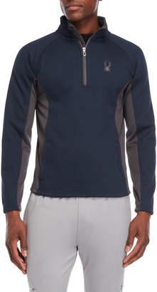 Spyder Bonded Fleece Quarter-Zip Pullover