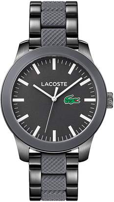 Lacoste Men's Lacoste.12.12 Pinnacle Mixed Material Bracelet