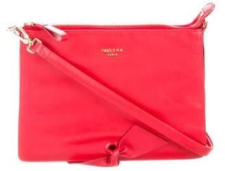 Paule Ka Leather Crossbody Bag