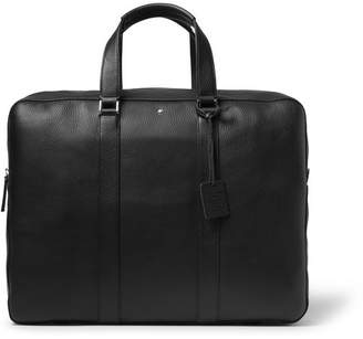 Montblanc Meisterstuck Leather Briefcase - Men - Black
