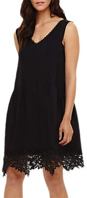 Phase Eight Prim Lace Dress, Black