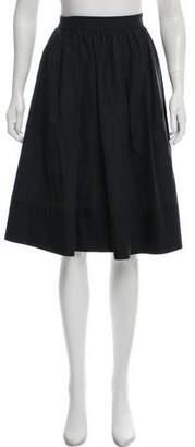 Miu Miu Knee-Length Circle Skirt