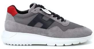 Hogan Interactive New Design Low Top Grey Sneakers