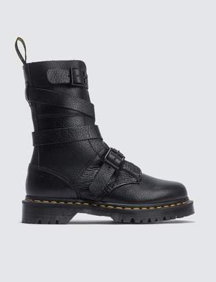 Dr. Martens 10 Eye Boots With Strap