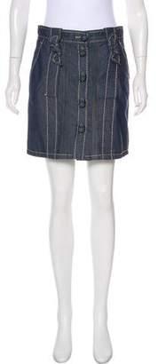 Viktor & Rolf Mini Denim Skirt