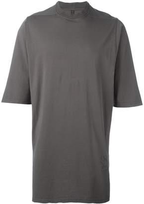 Rick Owens oversized round neck T-shirt