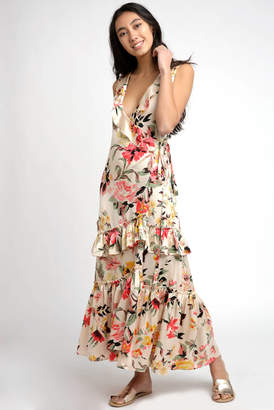 Billabong Love Like Summer By Love Like Summer by Floral Ruffle Maxi Dress