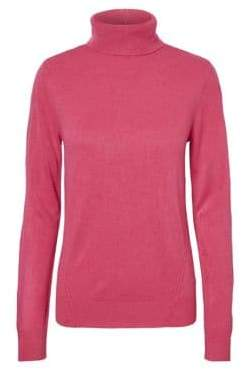 Noisy May High-Neck Knitted Sweater