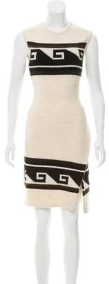 Isabel Marant Sleeveless Fair Isle Dress