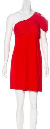 Rachel Zoe One Shoulder Mini Dress