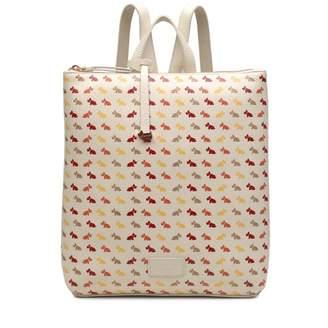 Radley Multi Dog Medium Zip-Top Backpack
