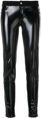 Just Cavalli contrast skinny trousers