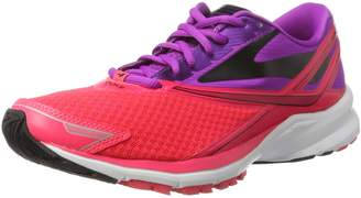 Brooks Women's Launch 4 Running Shoe (BRK-120234 1B 36932A0 9.5 PUR/PNK/BLK)