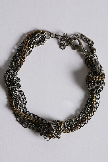 DL by Dirty Librarian Chains Bracelet
