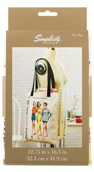 Simplicity Vintage Tote Bag 2075