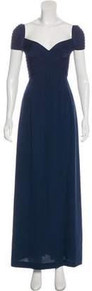 Herve Leger Sweetheart Neckline Maxi Dress