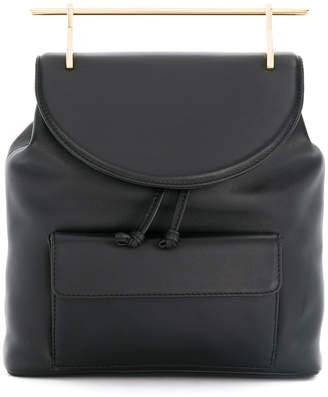 M2Malletier gold handle backpack