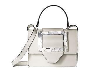 Emporio Armani Plexy Buckle Crossbody Handbags