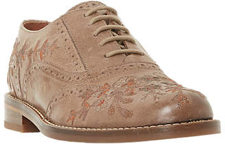 Bertie Fielder Embroidered Brogues