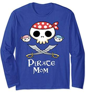 Pirate Mom Tee Long Sleeve