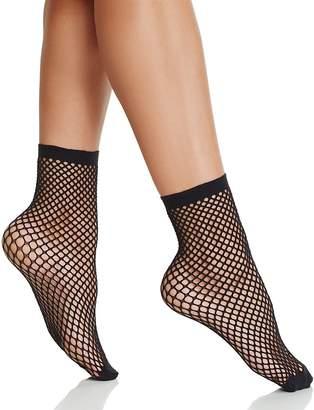 Pretty Polly Fishnet Anklet Socks $12 thestylecure.com