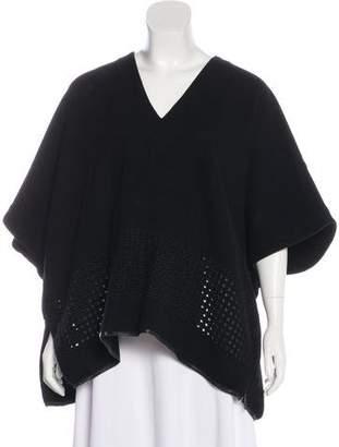 Zero Maria Cornejo Oversize V-Neck Sweater