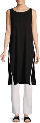 Eileen Fisher Ribbed Sleeveless Tunic