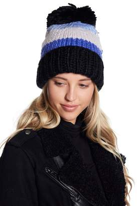 Kate Spade Hand Knit Colorblock Beanie