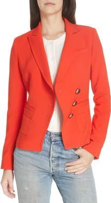 Smythe Asymmetrical Button Blazer
