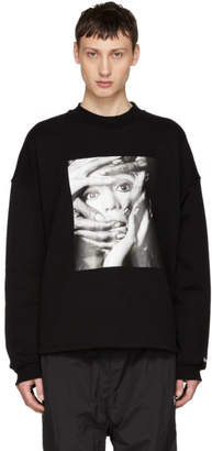 Opening Ceremony Black Shinoyama Edition Cozy Sweatshirt