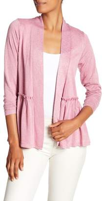 Bobeau Baby Doll Back Cardigan