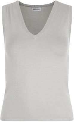 La Perla New Silk Soul Bi-Stretch Silk Knit Vest Top