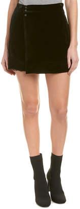 BCBGMAXAZRIA Albie Silk-Blend Mini Skirt