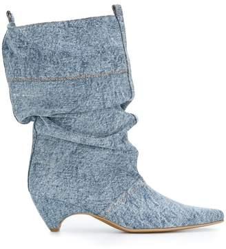Stella McCartney denim boots