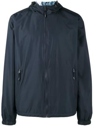 Kenzo k way reversible hooded jacket