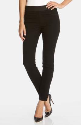 Karen Kane Dark Rinse Denim Leggings